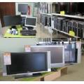 Ecran LCD, disque dur, alimentation PC, réseau/wifi, carte graphique, graveur, clavier, souris, webcam